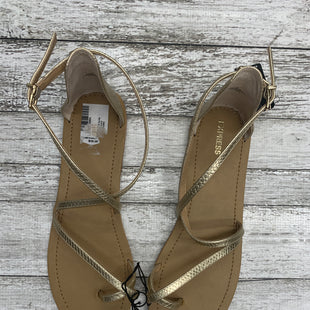 Primary Photo - BRAND: EXPRESS STYLE: SANDALS COLOR: GOLD SIZE: 10 SKU: 126-1881-58786
