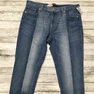 Primary Photo - BRAND: EXPRESS STYLE: ANKLE PANT COLOR: DENIM SIZE: 12 SKU: 126-3003-7368