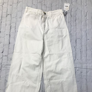 Primary Photo - BRAND: WE THE FREE STYLE: ANKLE PANT COLOR: CREAM SIZE: 10 OTHER INFO: NEW! SKU: 126-2092-184056