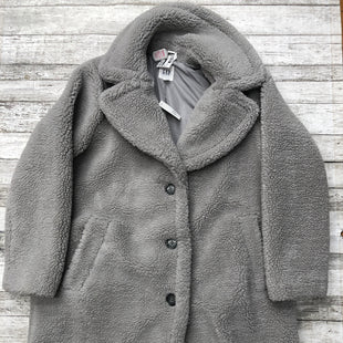 Primary Photo - BRAND: GAP STYLE: COAT LONG COLOR: GREY SIZE: PETITE LARGE OTHER INFO: NEW! SKU: 126-2092-182441