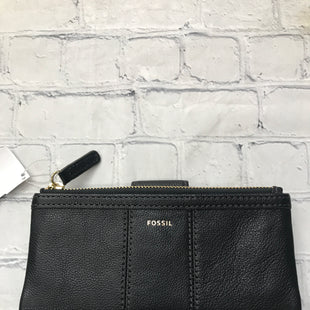 Primary Photo - BRAND: FOSSIL STYLE: WALLET COLOR: BLACK SIZE: MEDIUM SKU: 126-2092-184366