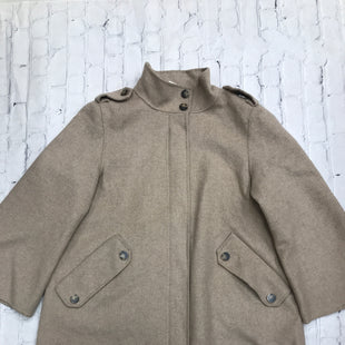 Primary Photo - BRAND: ZARA BASIC STYLE: JACKET OUTDOOR COLOR: BEIGE SIZE: L SKU: 126-1881-67419