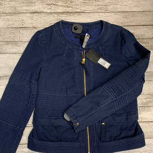 Primary Photo - BRAND: MARC BY MARC JACOBS STYLE: JACKET OUTDOOR COLOR: SLATE BLUE SIZE: 10 OTHER INFO: NEW! RETAIL $458 SKU: 126-2092-163305
