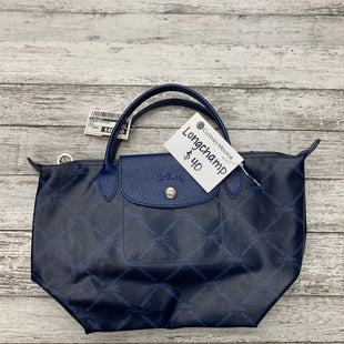 Primary Photo - BRAND: LONGCHAMP STYLE: HANDBAG DESIGNER COLOR: BLUE SIZE: SMALL SKU: 126-4845-701