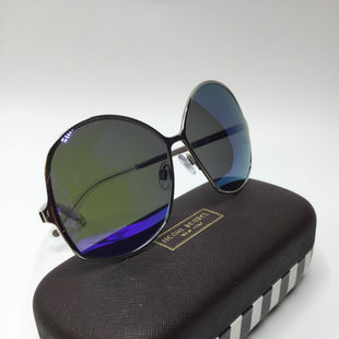 Primary Photo - BRAND: HENRI BENDEL STYLE: SUNGLASSES COLOR: SILVER MODEL NUMBER: 6013 HB137S SKU: 126-1881-63991