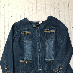Primary Photo - BRAND: CATHERINES STYLE: DENIM JACKET COLOR: DENIM SIZE: 2X SKU: 126-1881-67075
