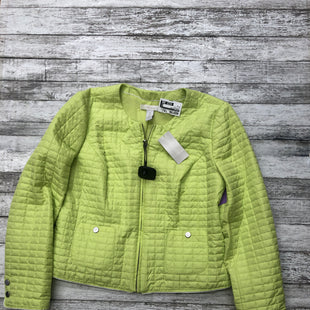 Primary Photo - BRAND: CHICOS STYLE: JACKET OUTDOOR COLOR: LIME GREEN SIZE: M SKU: 126-3003-7553