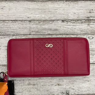 Primary Photo - BRAND: COLE-HAAN STYLE: WALLET COLOR: PINK SIZE: MEDIUM SKU: 126-1881-48293