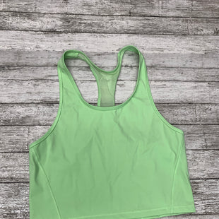 Primary Photo - BRAND: ATHLETA STYLE: ATHLETIC TANK TOP COLOR: LIME GREEN SIZE: M SKU: 126-3290-79063