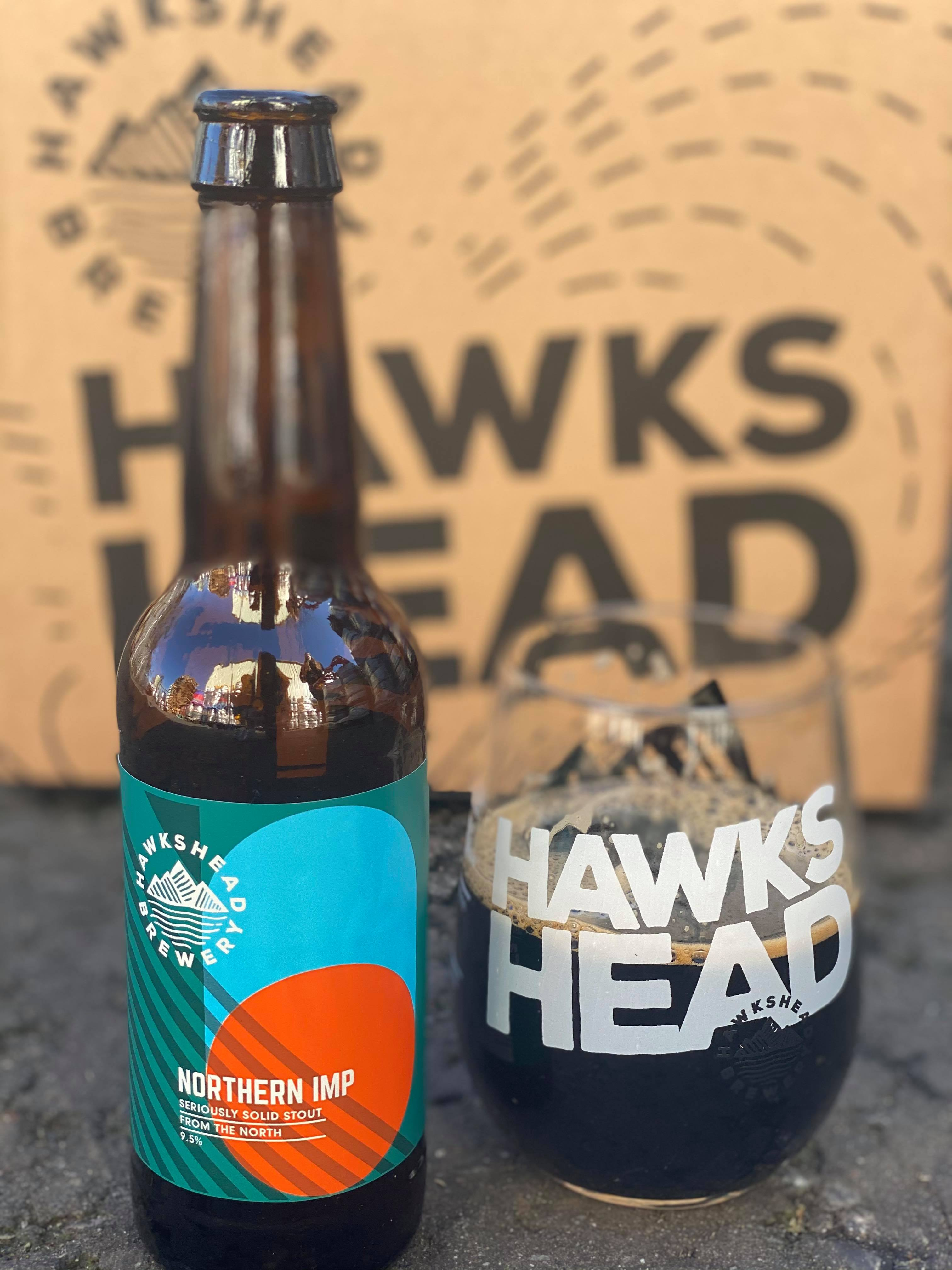 LIMITED EDITION HAWKSHEAD NORTHERN IMPERIAL STOUT 12 BOTTLE CASE