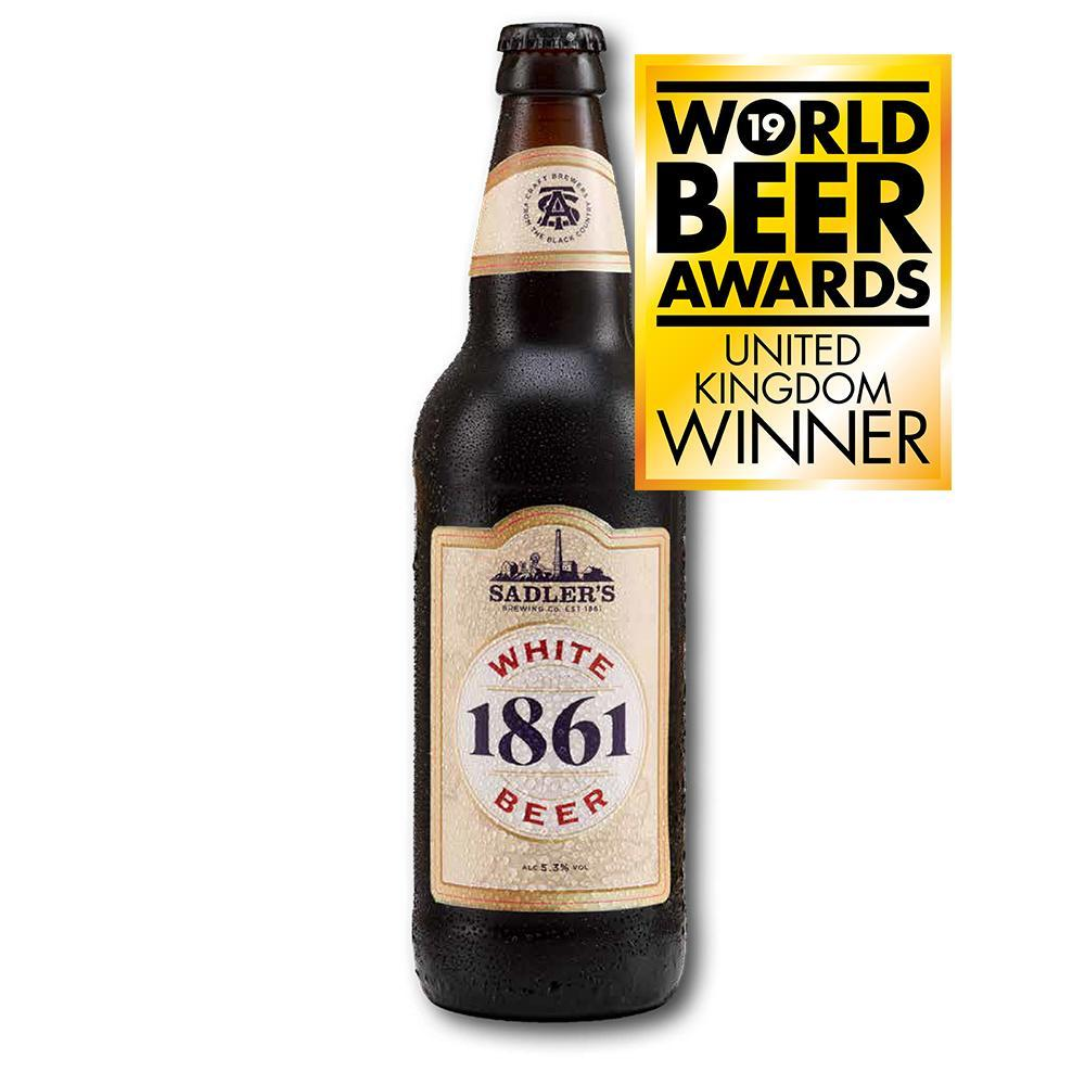 Sadler's 1861 White Beer 8 Bottle Case - HawksheadBrewery