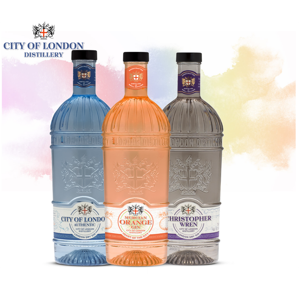 Hawkshead Brewery City of London Gin 3x Bottle for £45