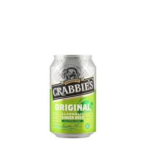 Crabbie's Original Alcoholic Ginger Beer 12 Can Case