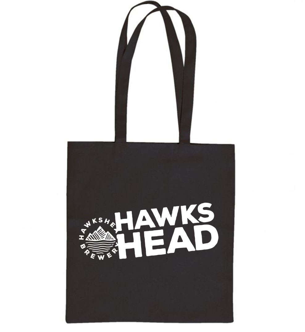 Hawkshead Brewery, Black Canvas Bag with White Logo