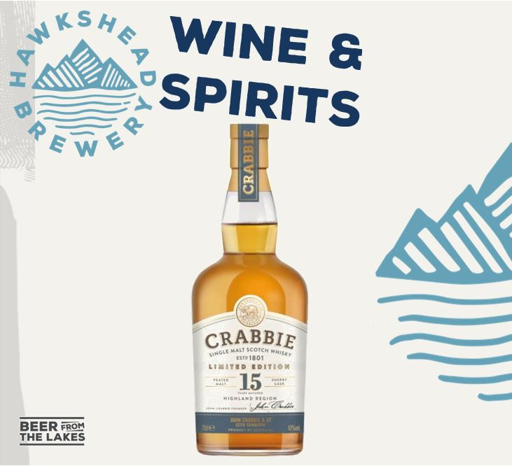 Crabbie 15 Year Old Single Malt Whisky & Free Whisky Tasting set