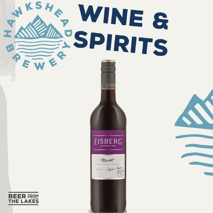 Eisberg Alcohol Free Wine - Merlot - 2 bottles for £6