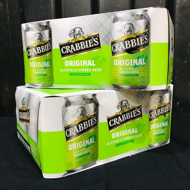 Hawkshead Brewery - Crabbies Original Ginger Beer 2 for £20 , 24 cans