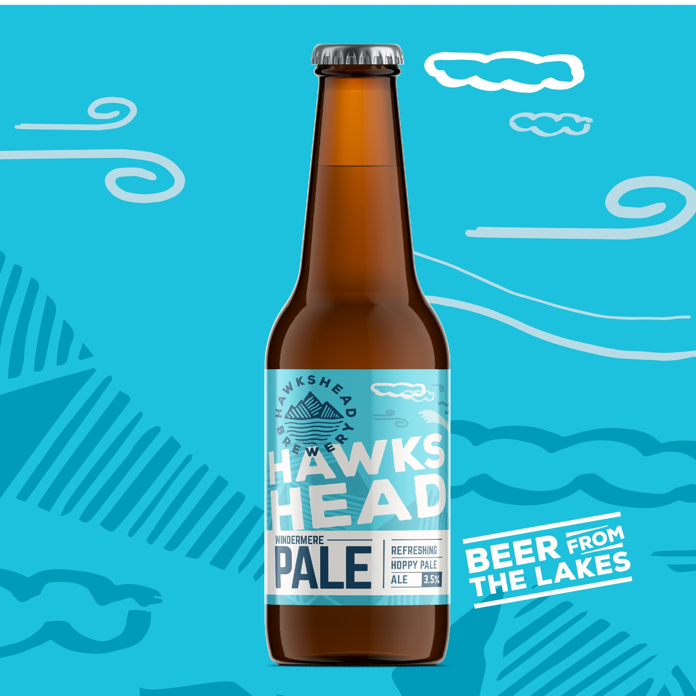 Hawkshead Windermere Pale Ale 12 Bottle Case 330ml - HawksheadBrewery