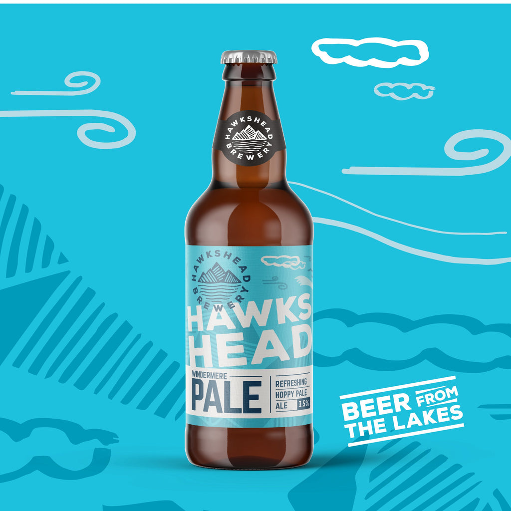 Hawkshead Windermere Pale Ale 8 Bottle Case - HawksheadBrewery