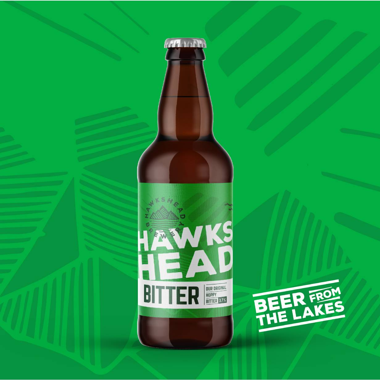 Hawkshead Brewery - Hawkshead Bitter 12x500ml Bottle Case