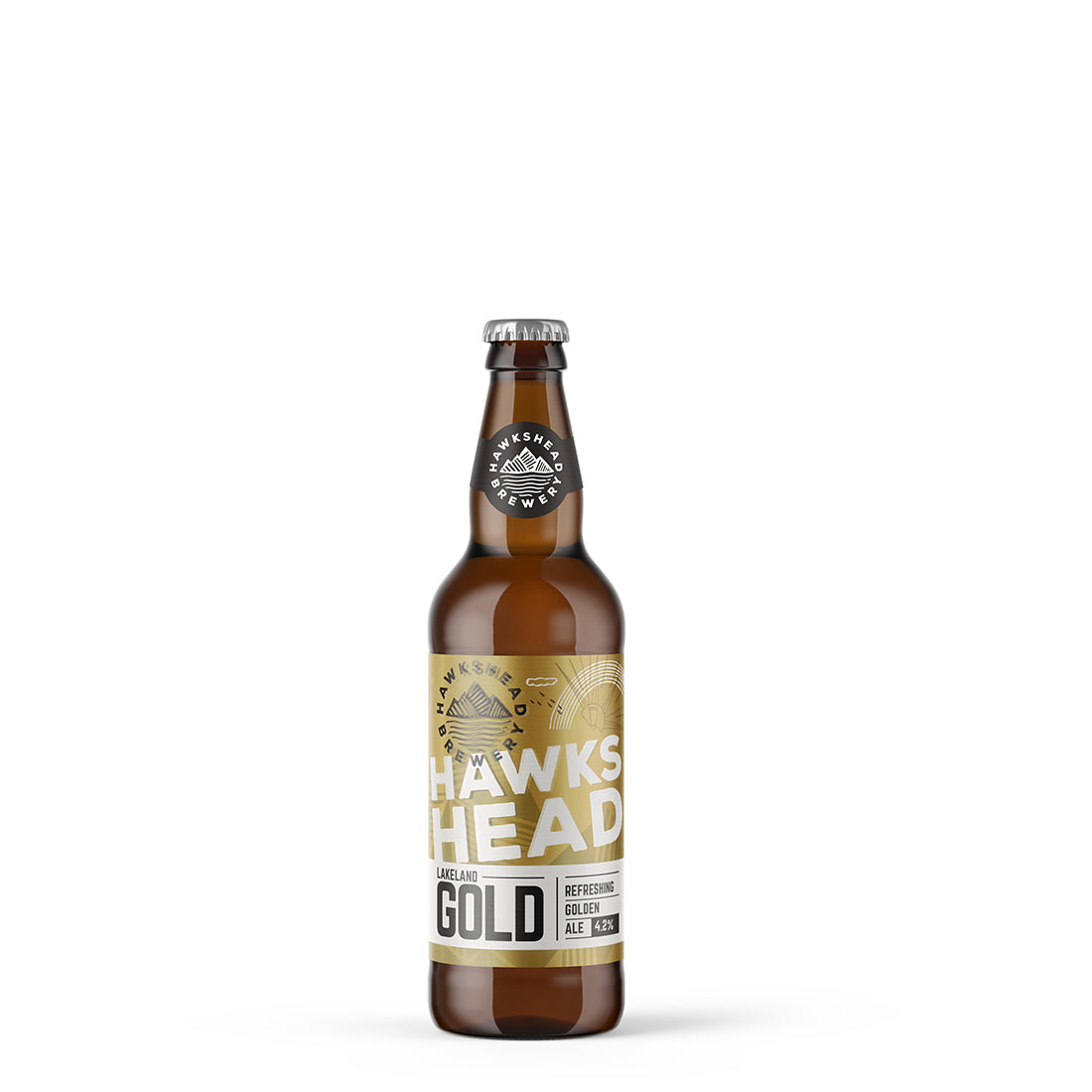 Hawkshead Brewery Lakeland Gold 8x500ml Bottles
