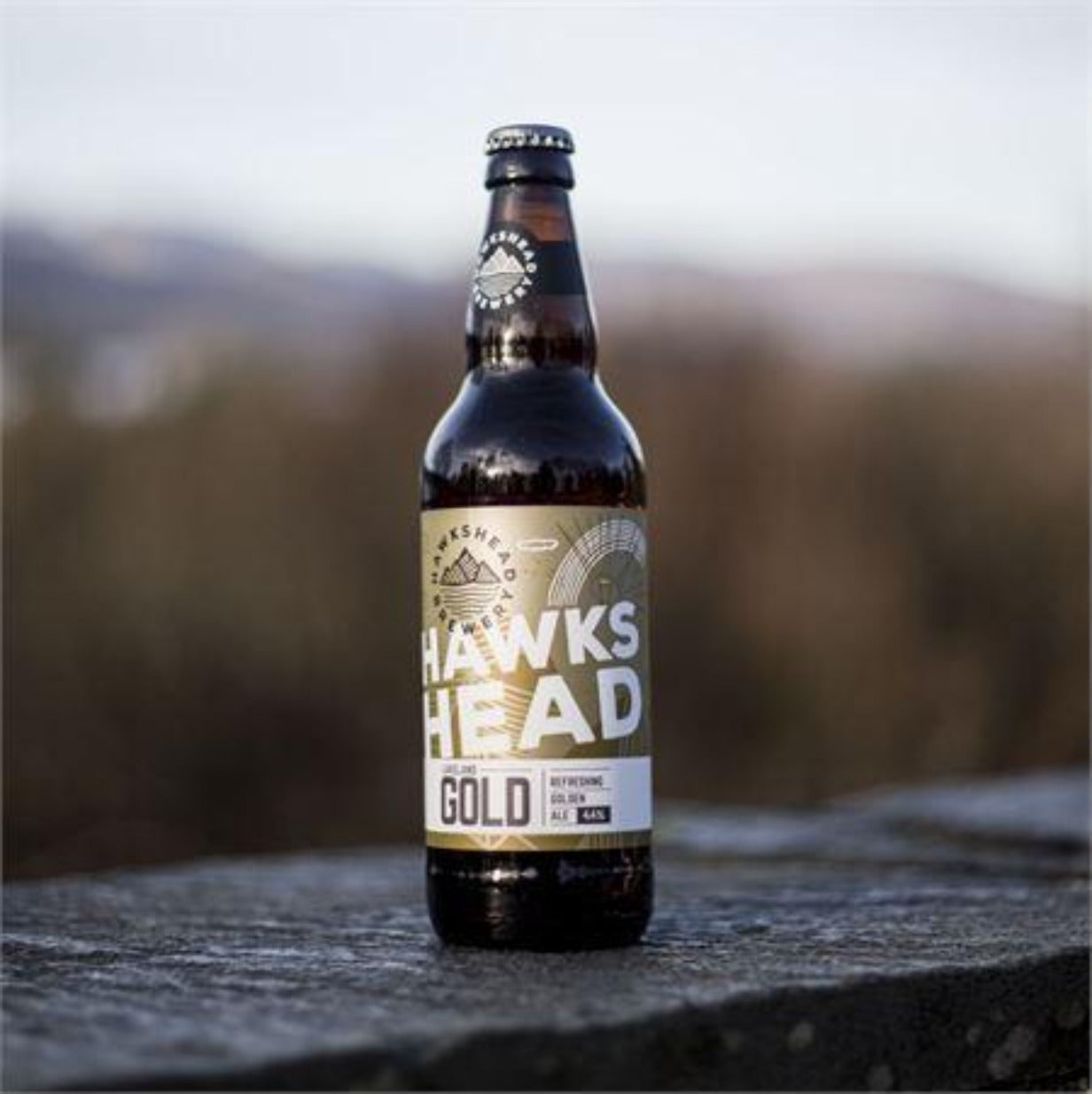 Hawskhead Brewery Lakeland Gold 8x500ml Bottles