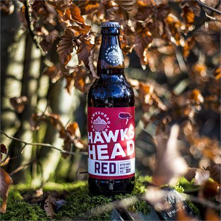 Hawkshead Bitter-sweet Red Ale, 8 Bottle Case - HawksheadBrewery