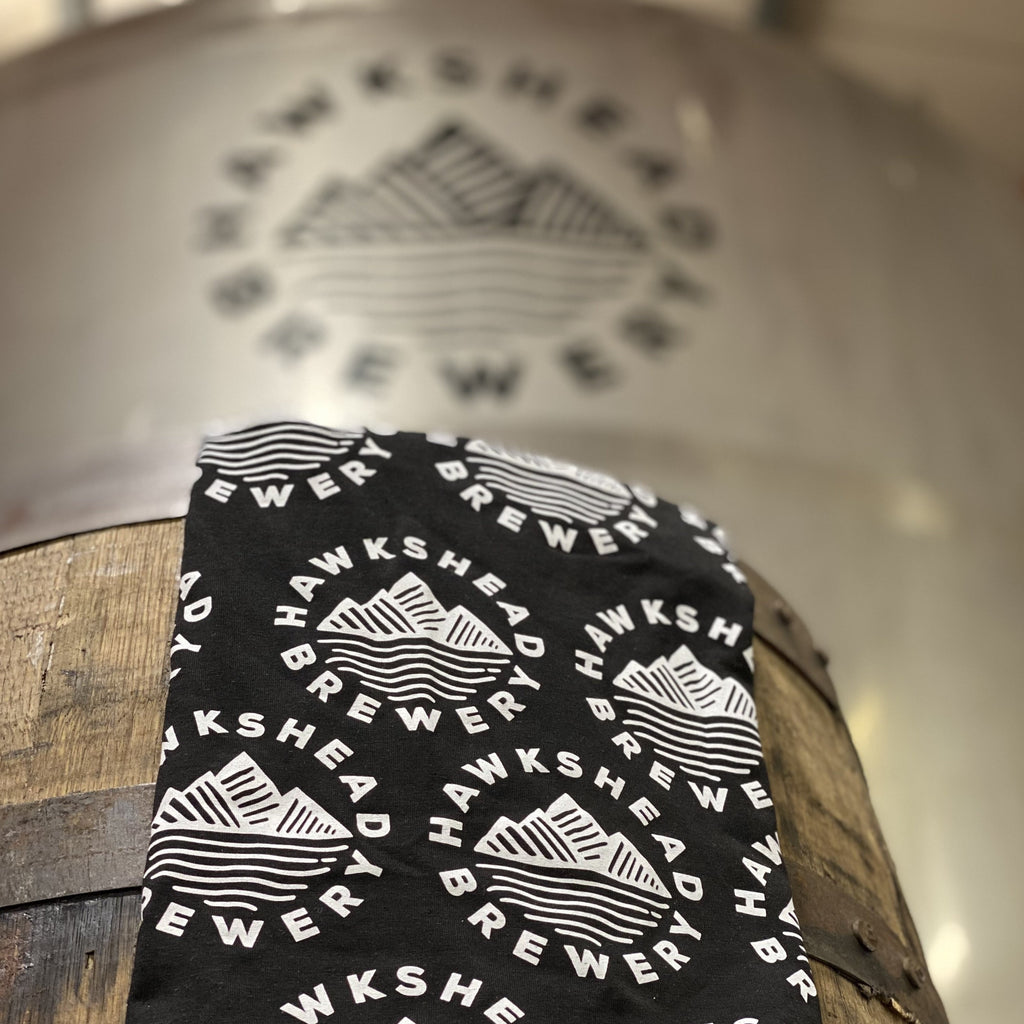 Hawkshead Brewery - Black & white Snood/face covering