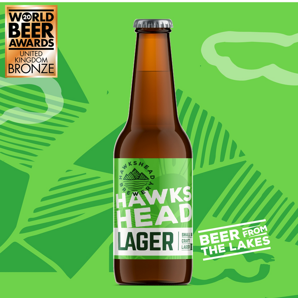 Hawkshead Lager 12 Bottle Case