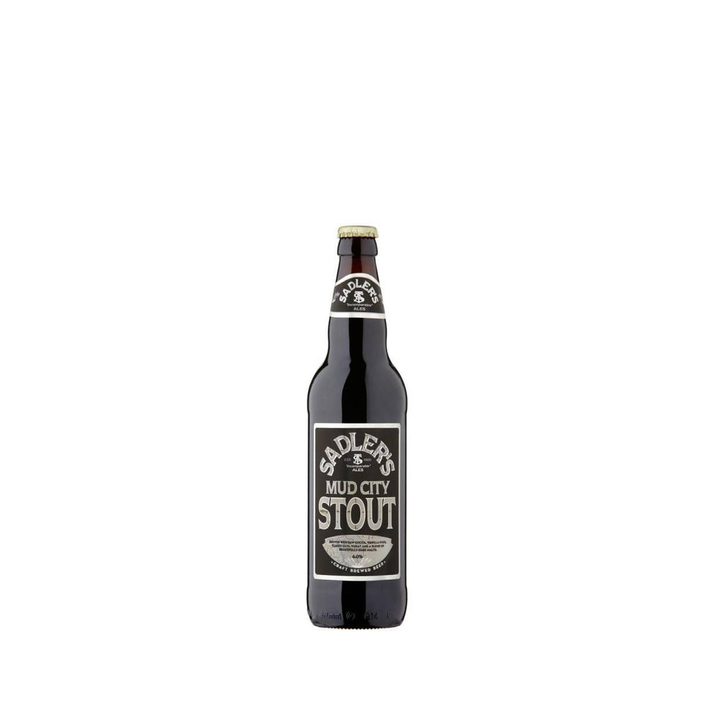 Sadlers Mud City Stout 8 Bottle Case - HawksheadBrewery
