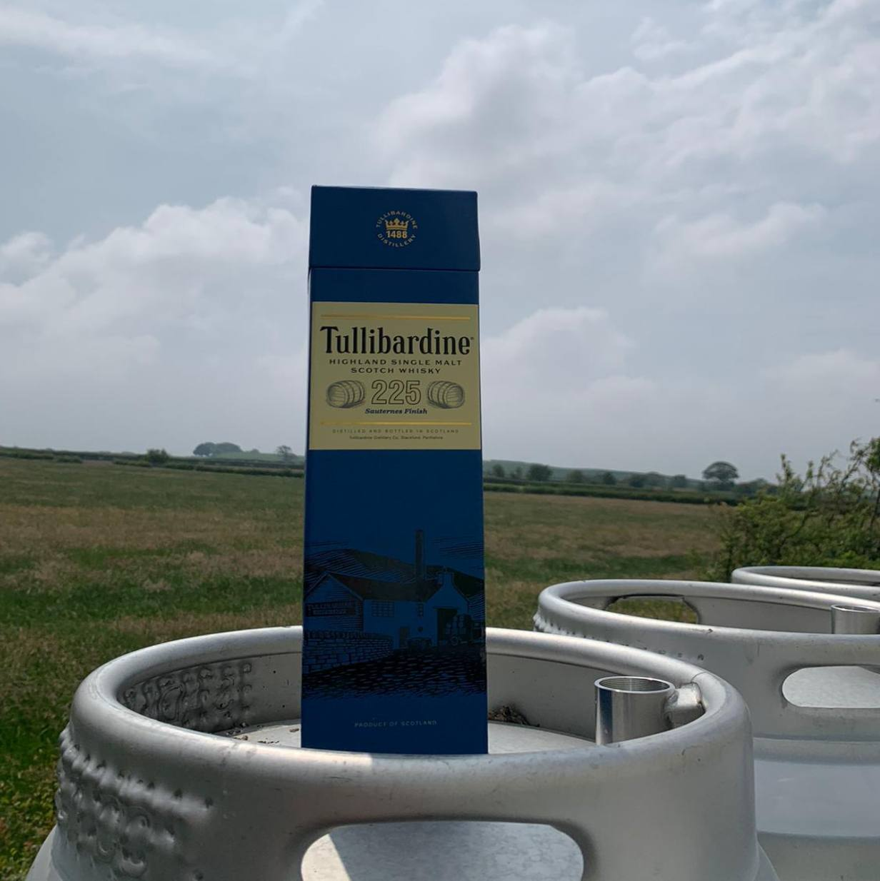 Tullibardine Sauternes Finish Highland Single Malt Scotch Whisky - HawksheadBrewery