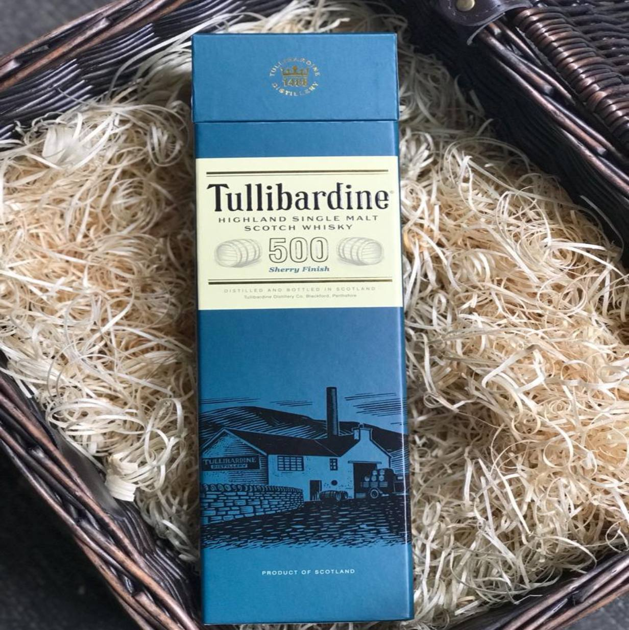 Tullibardine Sherry Finish Highland Single Malt Scotch Whisky - HawksheadBrewery