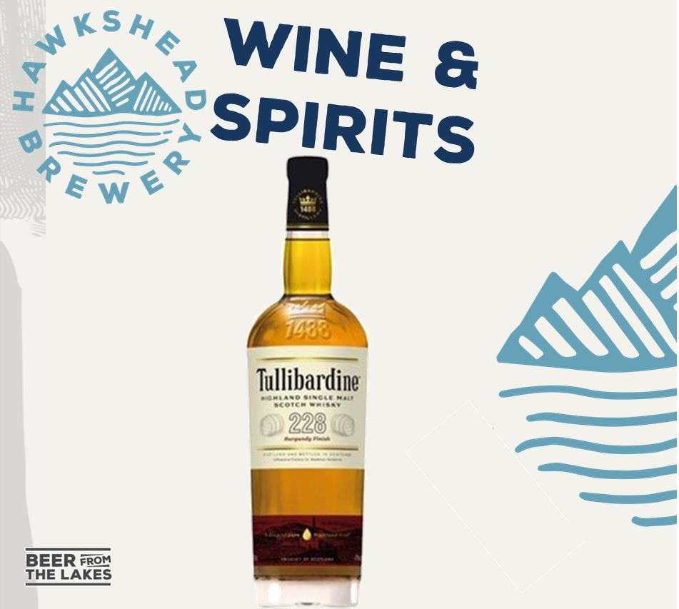 20% Off Tullibardine Burgundy Finish Highland Single Malt Scotch Whisky
