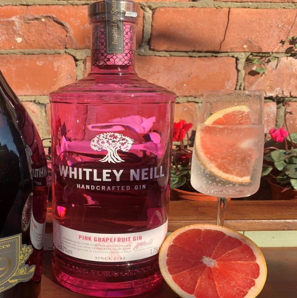 Hawkshead Brewery - WHITLEY NEILL PINK GRAPEFRUIT GIN EXTRA LARGE 1.75 LITRE