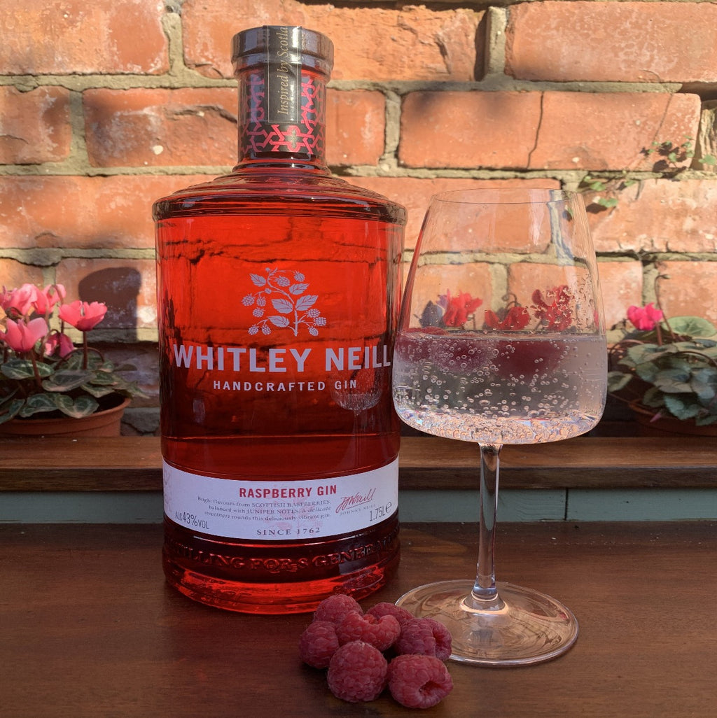 Whitley Neill Raspberry Gin Extra Large 1.75 Litre