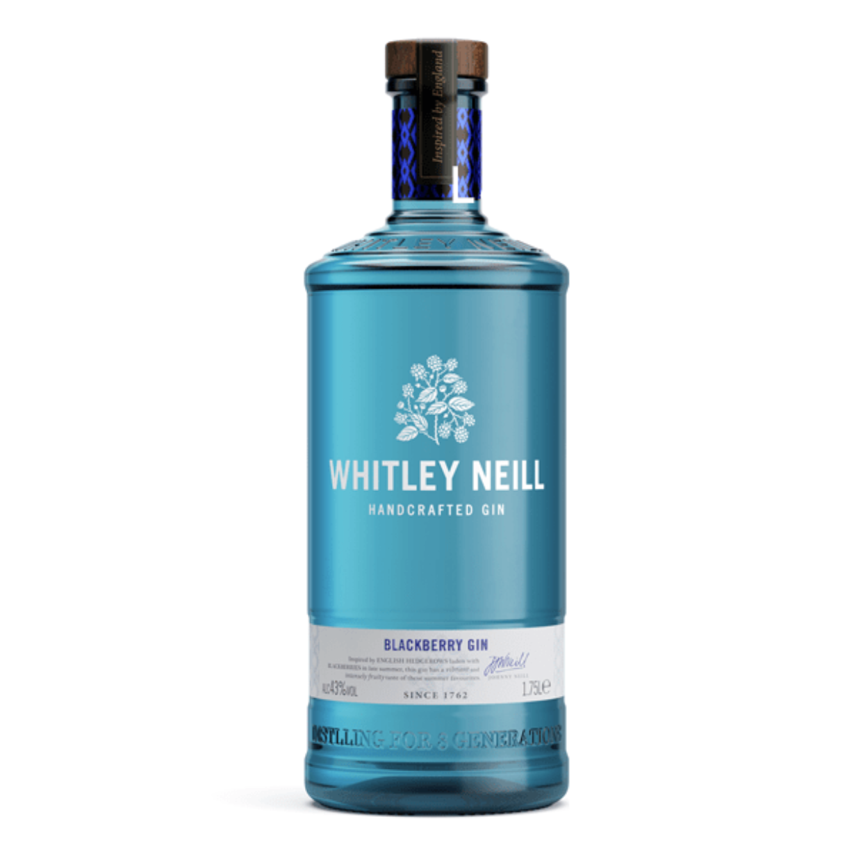 Whitley Neill Blackberry Gin Extra Large 1.75 Litre