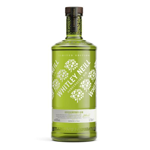Whitley Neill Gooseberry Gin Extra Large 1.75 Litre - thedropstore.com
