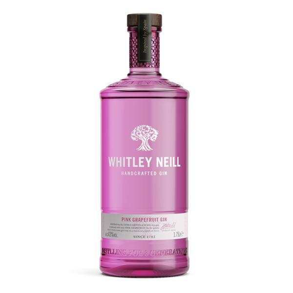 Whitley Neill Pink Grapefruit Gin Extra Large 1.75 Litre - thedropstore.com