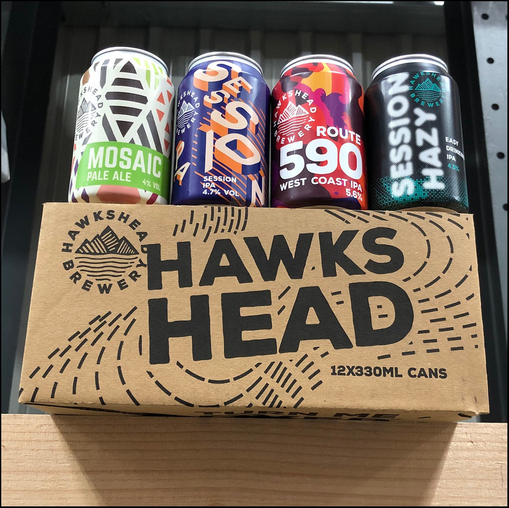 Mixed case 12x330ml cans