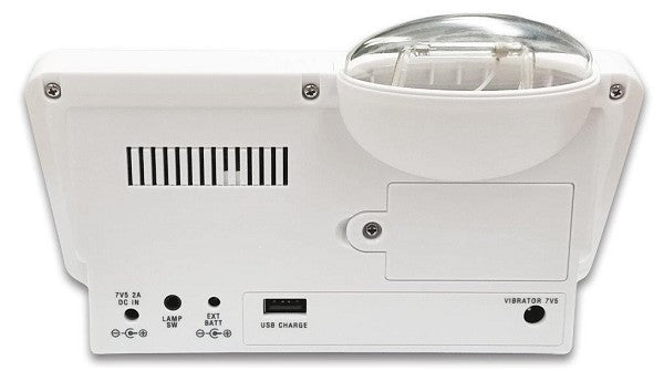 The HomeAware - HA360MKSB Built-in Smoke/CO Signaler, Telephone and Alarm Clock System by Sonic Alert