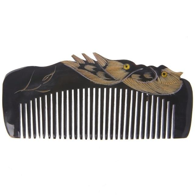 New Luxury Natural Horn Hair Comb