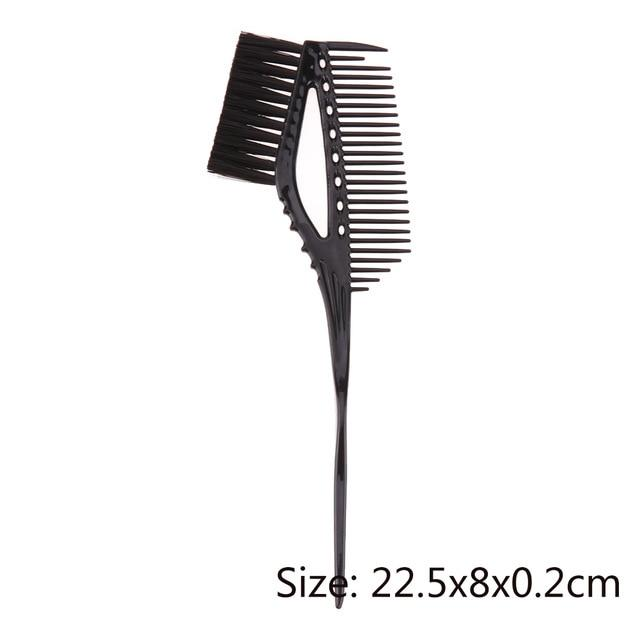 New  Plastic Hair Coloring Dye Salon Brush Comb