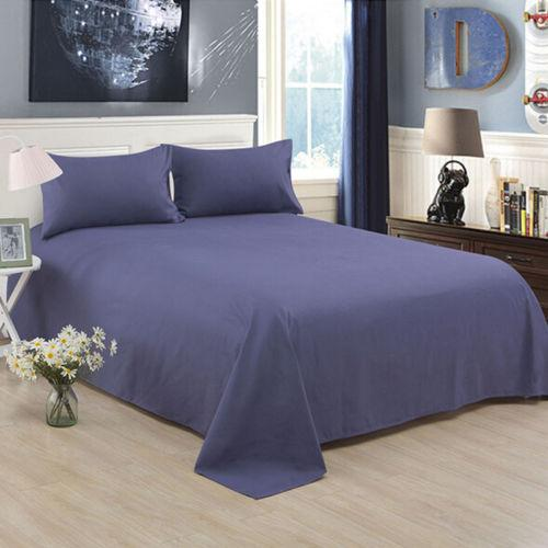 Bed Sheet Solid Cotton Mattress