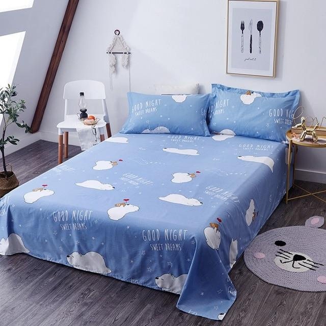 Home Textile Doraemon Printed Bed Sheet
