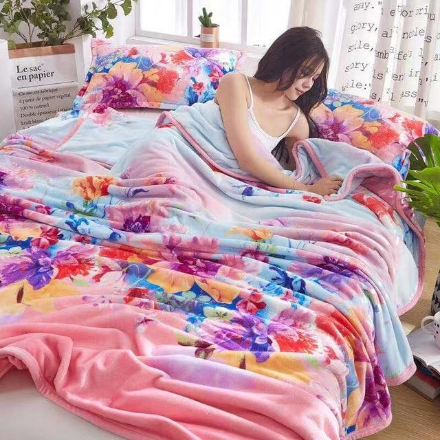 2019 Soft Warm Coral Fleece sheet