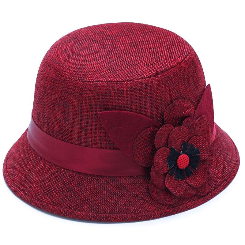 Newest  Casual Ladies Linen Breathable hat