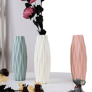 Plastic Shatter-proof Flower Pot Vase