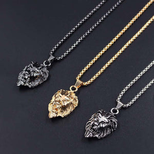 Hiphop Rock Animal Stainless necklace
