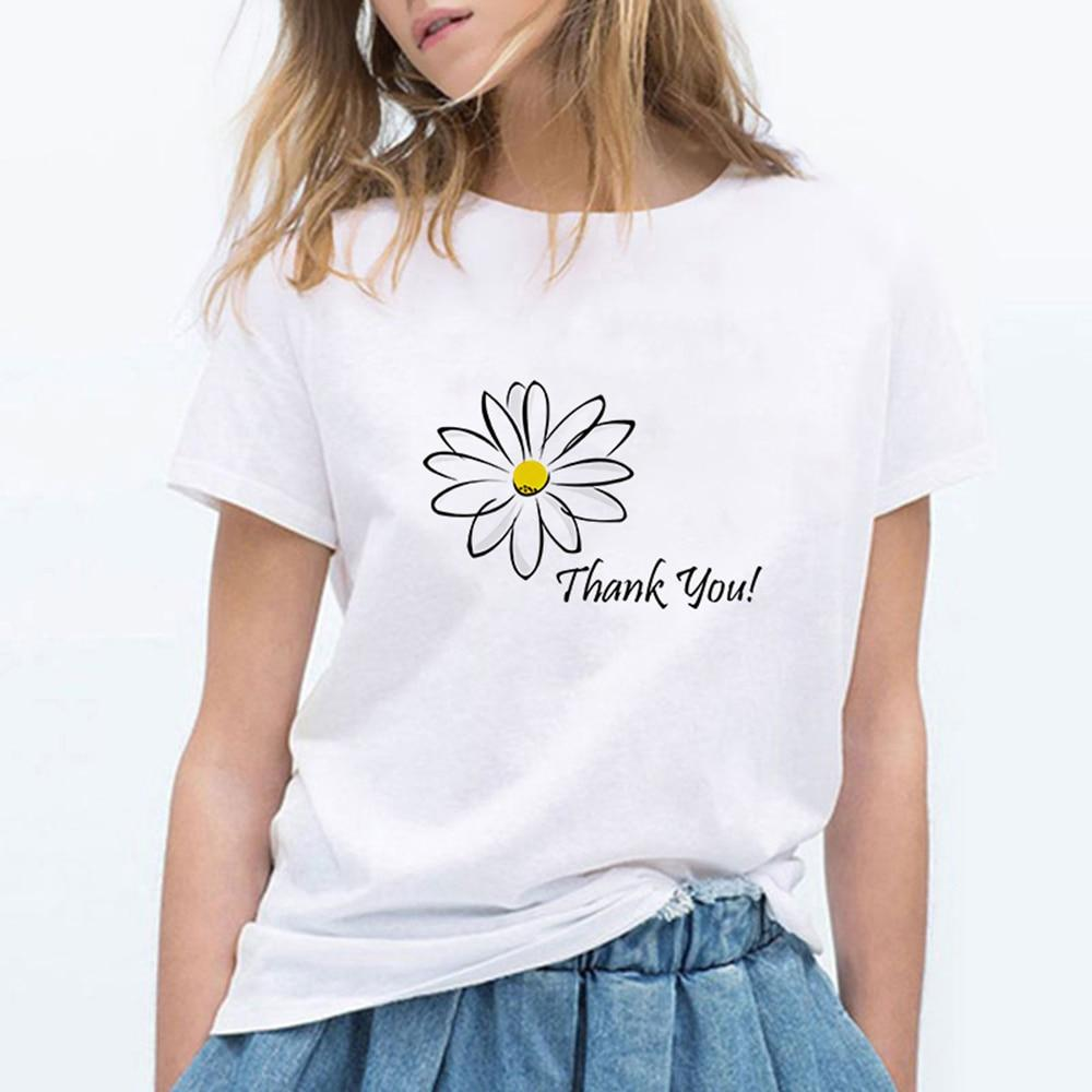 THANK YOU! FLOWER Summer T-Shirt