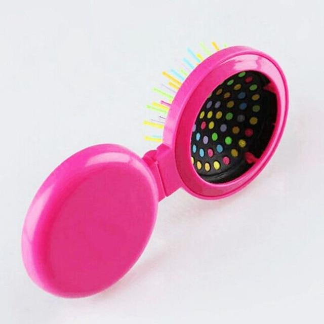 1PC Girls Portable Mini Folding Comb
